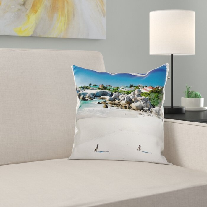 Super African Penguin Boulders Beach South Africa Pillow Cover Onthecornerstone Fun Painted Chair Ideas Images Onthecornerstoneorg