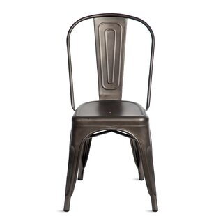 Ivy Bronx Kinnas Stacking Dining Chair (Set of 4)