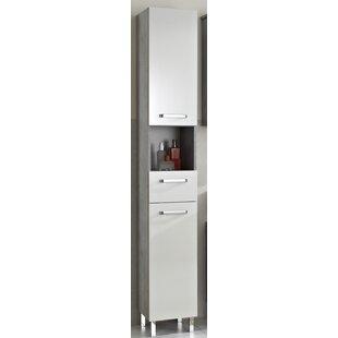 Hanau 30 X 196cm Free Standing Tall Bathroom Cabinet By Quickset