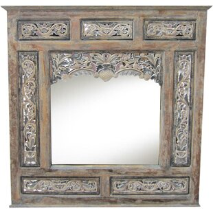 Asian Loft Balinese Panel Accent Mirror