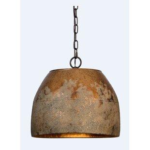 Williston Forge Shera 1-Light Cone Pendant