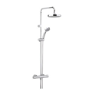 Carre Dual Shower Head - Round by Bristan