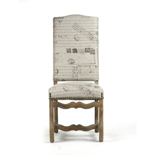 Delmont Upholstered Dining Chair by Zenti..