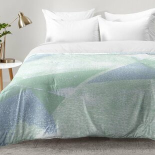 East Urban Home Holistic Geometric Texture Comforter Set