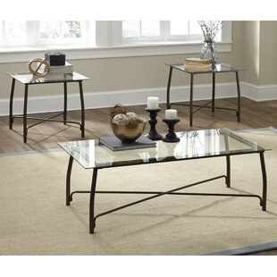 Mabrey 3 Piece Coffee Table Set  sc 1 st  Wayfair & Coffee Table Sets You\u0027ll Love | Wayfair