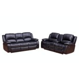 Wooding 2 Piece Reclining Living Room Set by Red Barrel Studio®