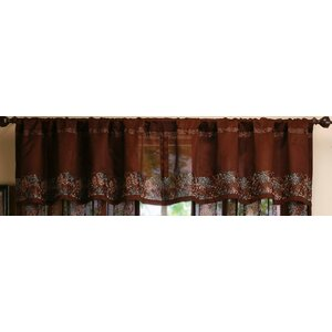 White Curtain Valance