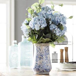 Hydrangea Arrangements in Vase