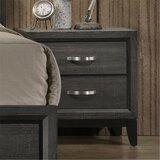 Jacquline 2 - Drawer Nightstand in Gray by Loon Peak®