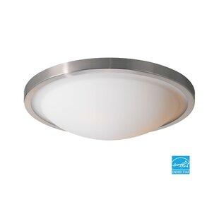 Woodbridge Lighting Energy Saving 2-Light Flush Mount