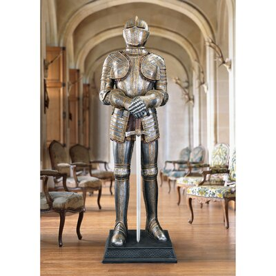 Design Toscano Knight's Guard Medieval Armour Statue