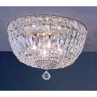 Empress 4-Light Semi-Flush Mount by Classic Lighting