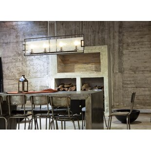 Best Reviews Anares III 4-Light Kitchen Island Pendant By Ove Decors