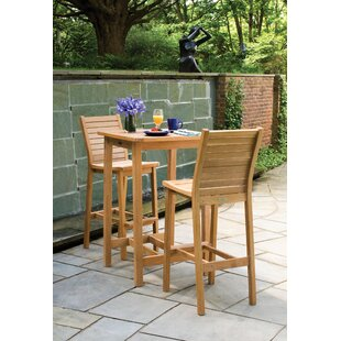 Morse 3 Piece Bar Height Dining Set