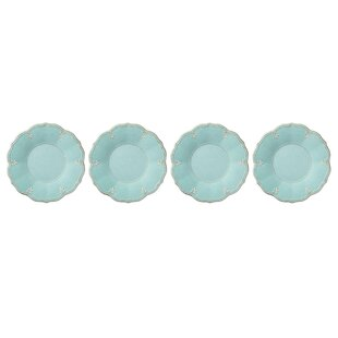 French Perle Melamine Dinner Plate (Set of 4)