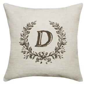 Eremo Initials Throw Pillow