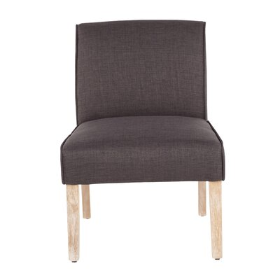Natoma Slipper Chair Upholstery Color: Gray by August Grove
