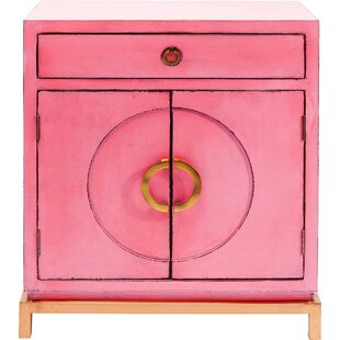 Disk Pink 1 Drawer Combi Chest By KARE Design