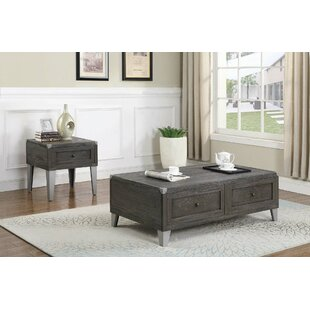 Samara 2 Piece Coffee Table Set by 17 Stories Cheap