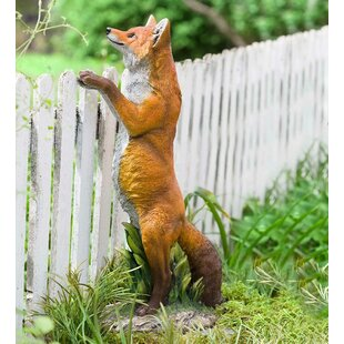Wind & Weather Standing Fox Statue