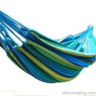 Ebern Designs Juliana Naval-Style Cotton Fabric Canvas Tree Hammock