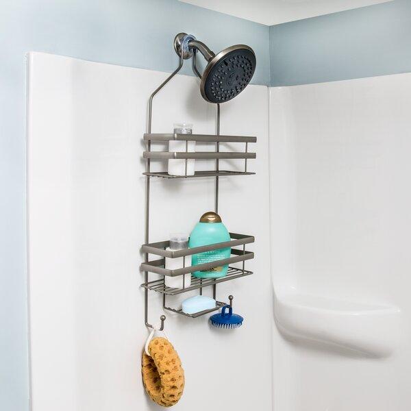 Rebrilliant Steel Bath Flat Wire Steel Shower Caddy Reviews Wayfair