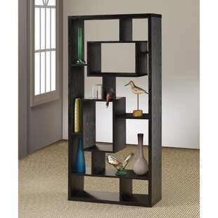 Faulkner Asymmetrical Geometric Bookcase by Ebern Designs