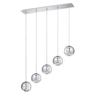 Hoeft 5-Light Cluster Pendant by Orren Ellis