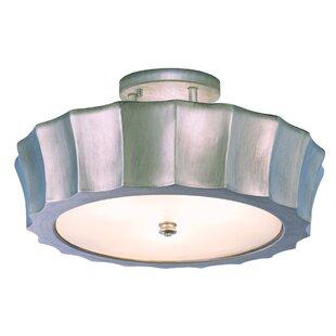 Orson 4-Light Semi-Flush M..
