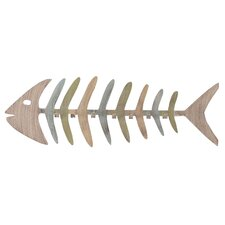Summer Bonefish Coat Rack by Coast Lamp Mfg.