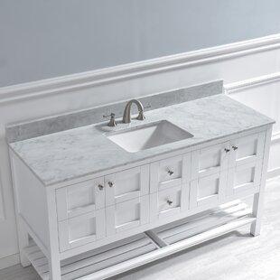 61 Single Bathroom Vanity Top
