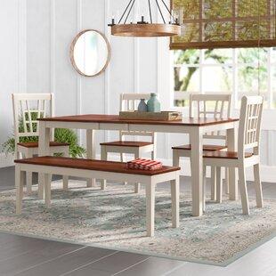 Pillar 6 Piece Dining Set by August Grove