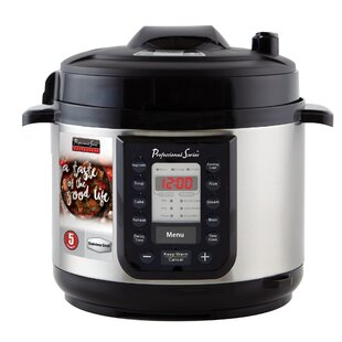5 Qt. Quick Menu Stainless Pressure Cooker