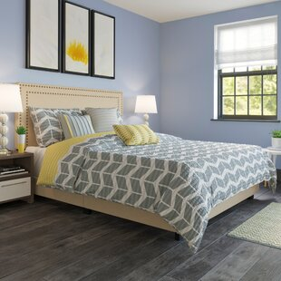 Charlie Upholstered Panel Headboard and Bed Frame by Zipcode Design