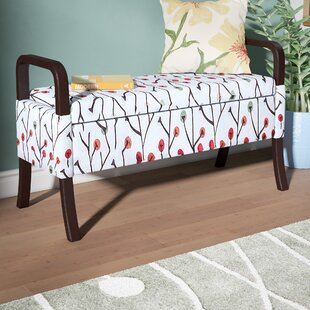 Blevins Upholstered Flip Top Storage Bench By Latitude Run