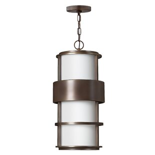 Hinkley Lighting Saturn LED Outdoor Semi Flush Mount