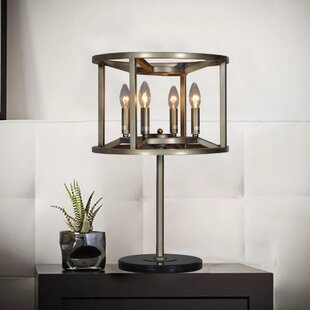 Reticolo Candle-Style 24.5 Table Lamp
