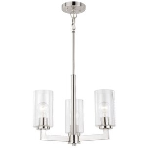 Orren Ellis Starbuck 3-Light Shaded Chandelier
