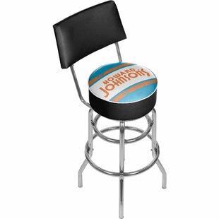 Howard Johnson 31 Swivel Bar Stool Trademark Global