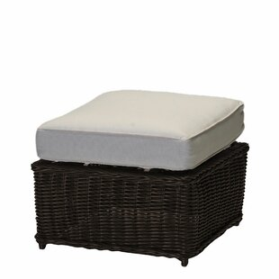 Sedona Outdoor Ottoman with Cushion by Summer Classics
