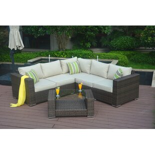 Northdale 4 Piece Sectional Set with Cushions