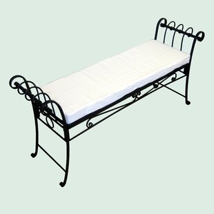 Scroll Iron Garden Bench
