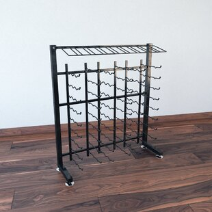 IDR Series 90 Bottle Floor Wine Rack