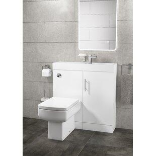 Compare Price 3-Piece Bathroom Furniture Set
