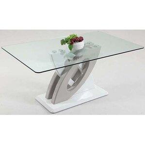 Orianna High Gloss Floor Plate by Orren Ellis
