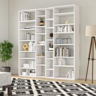 Napolitano Composition 2012-003 Geometric Bookcase By Brayden Studio