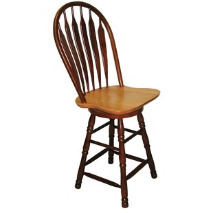 Banksville 30 Swivel Bar Stool Loon Peak