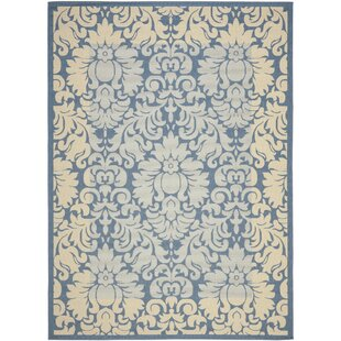 Marland Blue/Natural Indoor/Outdoor Area Rug