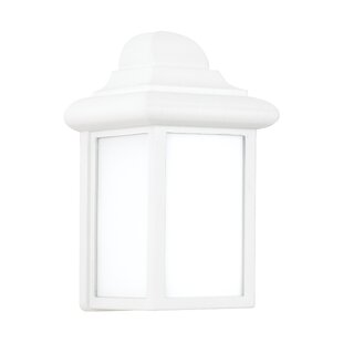 Reviews Burleson Outdoor Wall Lantern By Charlton Home