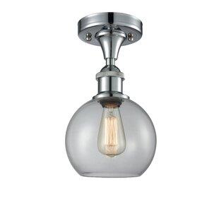 Garduno 1-Light Semi Flush Mount by Brayden Studio
